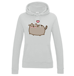 Sweatshirt Pusheen Love Heart - Frauen
