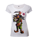T-Shirt The Legend of Zelda - Skull Kid - Frau