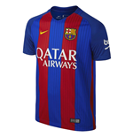 Trikot Barcelona 2016-2017 Home (mit Sponsoren)