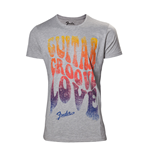 T-Shirt Fender - Guitar groove love - Mann
