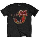 Ozzy Osbourne T-Shirt für Männer - Design: Diary of a Mad Man Tour 1982