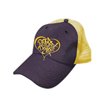 Kappe Pussycat Dolls  - Purple/in gelb Trucker Cap.