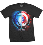 T-Shirt Marvel Superheroes Captain America Civil War Whose Side