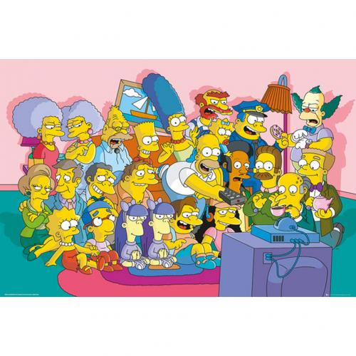 Poster Die Simpsons  244089