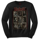 Slipknot langärmeliges T-Shirt für Männer - Design: New Mass