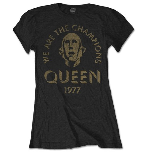 T-Shirt Queen We are the Champions
