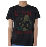 Mötley Crüe  T-Shirt für Männer - Design: Vintage World Tour Devil