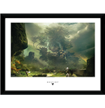Kunstdruck Destiny  - The Fortress Framed Picture (30x40 Cm)