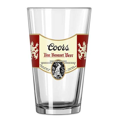 Glas Coors Banquet