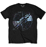 T-Shirt Pink Floyd - Machine Greeting Blue Special Edition Black