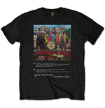 The Beatles T-Shirt für Männer - Design: Sgt Pepper 8 Track