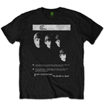 The Beatles T-Shirt für Männer - Design: With The Beatles 8 Track