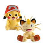 Pokemon Plüschfiguren 25 cm Sortiment (2)