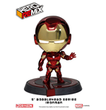 Avengers Age of Ultron Wackelkopf-Figur Iron Man Mark XLIII Red/Gold Chrome Ver. 13 cm