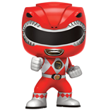 Power Rangers POP! Television Vinyl Figur Red Ranger 9 cm