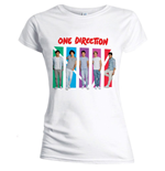 One Direction T-Shirt für Frauen - Design: Colour Arches