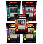 Magic the Gathering Commander (2016) Decks Display (5) italienisch