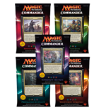 Magic the Gathering Commander (2016) Decks Display (5) französisch