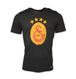 T-Shirt Galatasaray 2016-2017 (Schwarz)
