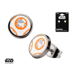 Star Wars Episode VII Edelstahl-Ohrringe BB-8 Lead Hero Droid