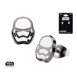 Star Wars Episode VII Edelstahl-Ohrringe Villain Stormtrooper