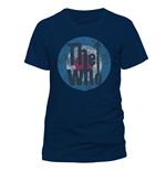 T-Shirt The Who - Target - Unisex in blau