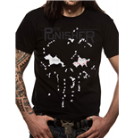 T-Shirt Punisher - The End - Unisex in schwarz