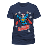 T-Shirt Superman - Christmas Hero - Unisex