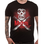 T-Shirt Misfits - Friday 13TH - Unisex in schwarz