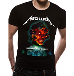T-Shirt Metallica - Hardwired album Cover unisex in schwarz