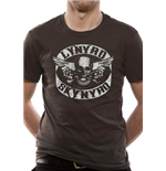 T-Shirt Lynyrd Skynyrd - Biker Patch - Unisex in grau