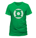 T-Shirt Die grüne Laterne - Distressed Logo - unisex in grun