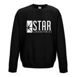 Sweatshirt Flash - Star Labs - Unisex Sweatshirt on schwarz