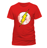 T-Shirt Flash Gordon - Logo - Unisex in rot