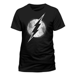 T-Shirt Flash - Logo Mono Diestressed - Unisex in schwarz