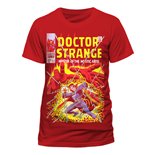T-Shirt Doctor Strange - Comic Cover - Unisex in rot