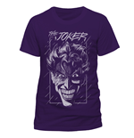 T-Shirt Batman - The Joker Purple - Unisex