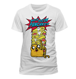 T-Shirt Adventure Time - Pancakes - Unisex in weiss