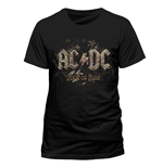 T-Shirt AC/DC - Rock Or Bust - Unisex in schwarz