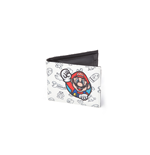 Geldbeutel Nintendo - Allover Print mit Super Mario Patch