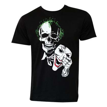 T-Shirt Joker Mask