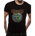 T-Shirt Foo Fighters - Globe