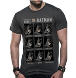 T-Shirt Batman  Dc Originals - Moods Of Batman - unisex in grau