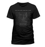 T-Shirt Nine Inch Nails - Head - Unisex in schwarz