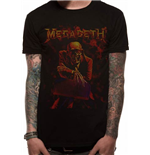 T-Shirt Megadeth  - Peace Sells - Unisex in schwarz