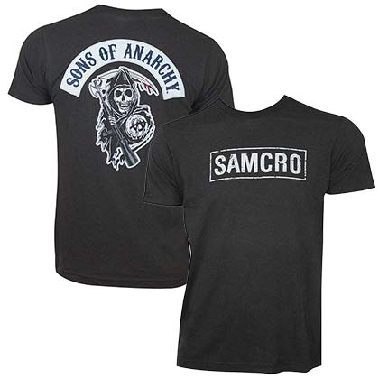 T-Shirt Sons of Anarchy SAMCRO
