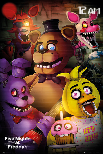 Poster Five Nights at Freddy's