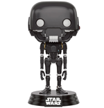 Star Wars Rogue One POP! Vinyl Wackelkopf-Figur K-2SO 9 cm