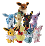 Pokemon Plüschfiguren 20 cm Sortiment Evoli (9)