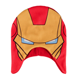 Iron Man Beanie Face